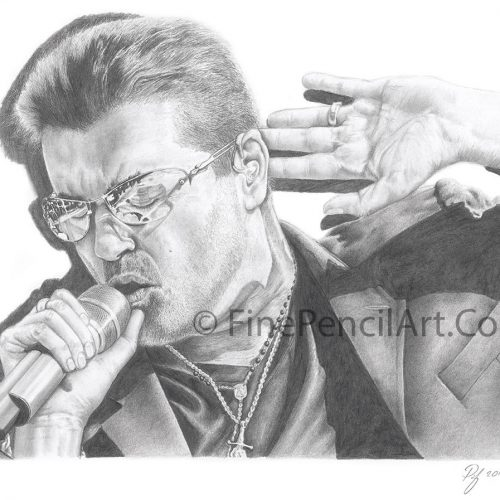 George Michael Art Print – 012450
