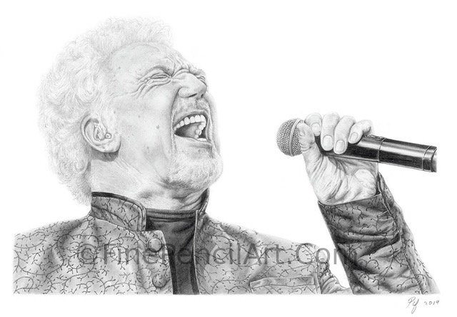Tom Jones Portrait
