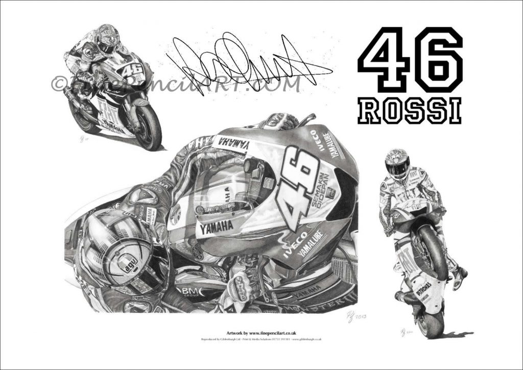 Valentino Rossi Artwork