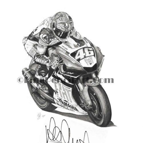 Valentino Rossi – Signed – 700126