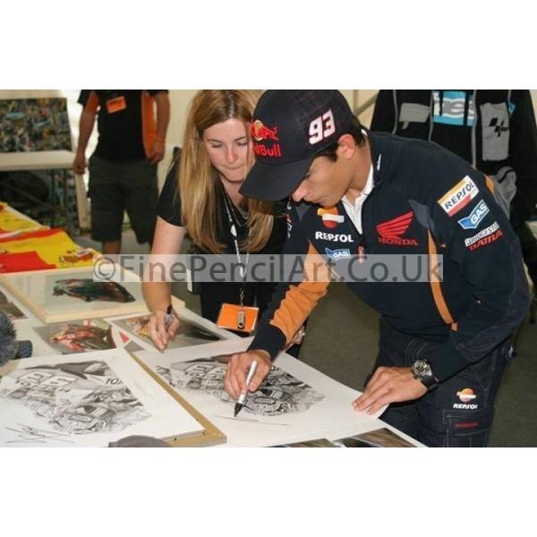 Marc Marquez Signing