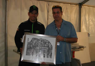 Pif with Cal Crutchlow