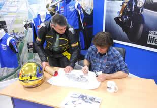 Guy Martin Signing