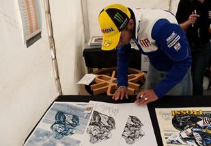 Valentino Rossi Signing